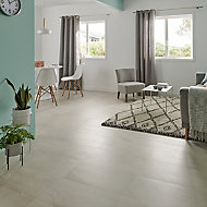 Palemon Ivory Matt Stone effect Porcelain Floor Tile Sample