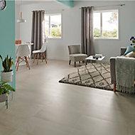 Palemon Ivory Matt Stone effect Porcelain Wall & floor Tile, Pack of 6, (L)610mm (W)305mm