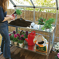Palram 2 tier Greenhouse workbench