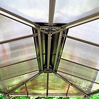 Palram Martinique Grey Rectangular Gazebo, (W)3.6m (D)2.96m