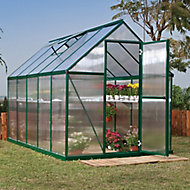 Palram Mythos 6X10 Polycarbonate Apex Greenhouse