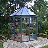 Palram Oasis™ 8x6 Hexagonal Greenhouse