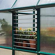 Palram Plastic Greenhouse side louvre window
