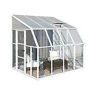 Palram Rion 8x8 Pent Plastic Sun room