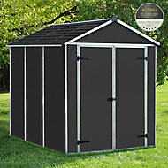 Palram Rubicon 6x8 Apex Shed (Base included)