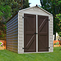 Palram Skylight 6x8 Apex Shed (Base included)