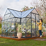 Palram Victory 12x10 Polycarbonate Cathedral Greenhouse