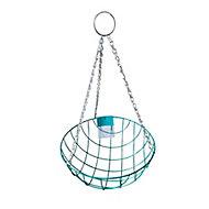 Panacea Classic design Wire Hanging basket, 35cm