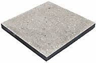Panache ground Silver grey Reconstituted stone Paving slab (L)450mm (W)450mm, Pack of 40