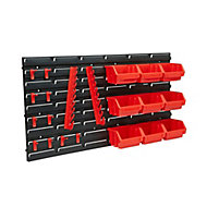 Patrol Ergobox 9 compartment Organiser bin storage system