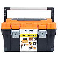 "Patrol HD Trophy 2 23"" Plastic Toolbox"