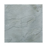 Peak Grey Reconstituted stone Paving slab (L)600mm (W)600mm, Pack of 20