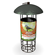Peckish Secret garden Steel Energy ball Bird feeder 0.7L