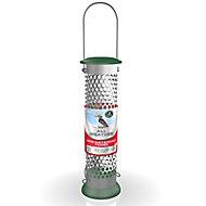 Peckish Stainless steel Suet & peanut All weather Bird feeder 0.7L