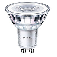Philips 4.6W 345lm LED Dimmable Light bulb, Pack of 3