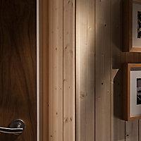 Pine Angled edge Softwood Moulding (L)2.4m (W)18mm (T)18mm 0.33kg