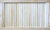 Pine LH & RH Internal Louvre Door, (H)762mm (W)457mm (T)21mm