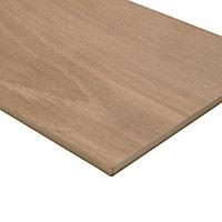 Pine wood Natural Matt Wood effect Porcelain Wall & floor Tile, Pack of 8, (L)800mm (W)200mm