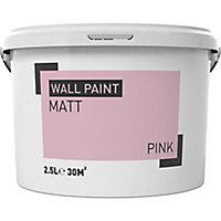 Pink Matt Emulsion paint 2.5L