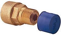 Plumbsure Bayonet Straight Gas hose connector (Dia)12.7mm