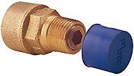 Plumbsure Bayonet Straight Gas hose connector (Dia)9.5mm