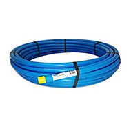 Plumbsure Blue MDPE Push-fit Pipe (L)25m (Dia)20mm