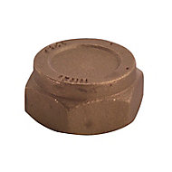 Plumbsure Brass Compression Blanking cap