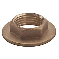 Plumbsure Brass Flange Threaded Backnut (Dia)19mm