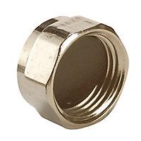 Plumbsure Brass Threaded Blanking cap