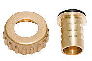 Plumbsure Brass Threaded Hose tail (Thread)½""