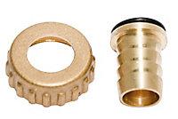 "Plumbsure Brass Threaded Hose tail (Thread)½"""