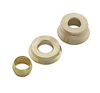 Plumbsure Compression Internal Reducer (Dia)15mm x 8mm