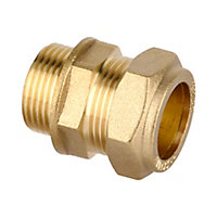 Plumbsure Compression Straight Coupler (Dia)22mm x 19.05mm