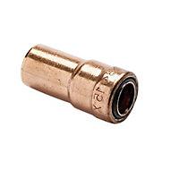 Plumbsure Push-fit Socket Reducer (Dia)15mm x 10mm