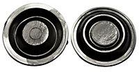 Plumbsure Rubber Ball valve Washer, (D) 30mm Pack of 2