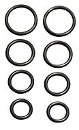 Plumbsure Rubber O ring, Pack of 6