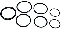Plumbsure Rubber O ring, Pack of 7
