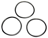 Plumbsure Rubber Washer, Pack of 3