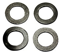 Plumbsure Rubber Washer, Pack of 4