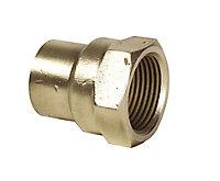 Plumbsure Solder ring Connector (Dia)15mm x 12.7mm