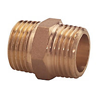Plumbsure Threaded Central heating Pipe nipple, ¾""