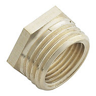 Plumbsure Threaded Reducing Pipe fitting bush (Dia)12.7mm