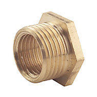 Plumbsure Threaded Reducing Pipe fitting bush (Dia)19mm