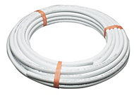 Plumbsure White PE-X Barrier pipe (L)25m (Dia)22mm