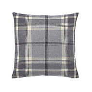 Podor Check Grey Cushion
