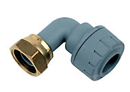 """PolyPlumb Push-fit Tap connector 15mm x 0.5"""""""