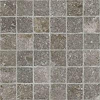 Porfido Grey Matt Stone effect Porcelain Outdoor Floor Tile, Pack of 2, (L)600mm (W)600mm