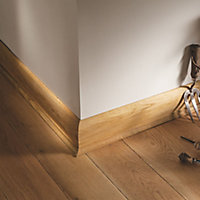 Primed White Pine Scotia Moulding (L)2.4m (W)12mm (T)12mm
