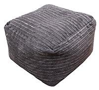 Primeur Metropolis Plain Bean bag cube, Chocolate