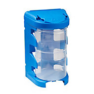 QuestSystem Q4 Blue Large Organiser bin